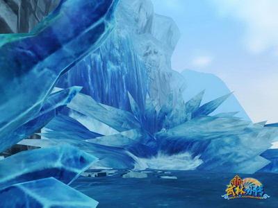 """在""""冰火岛·序章""""任务中,玩家可以通过一系列任务追寻菲雪"""